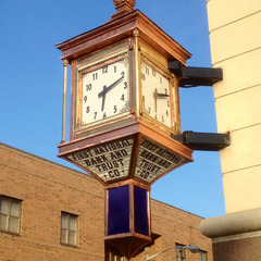 McClintock copper and brass clock restoration, Woodbury NJ courthouse