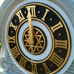 Full tower clock restoration Henry County Courthouse