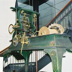 Howard mechanical clock restoration, Nantucket Island Whaling Museum