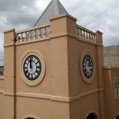 Restoration of 100 year old cast iron clocks, Tyler Texas