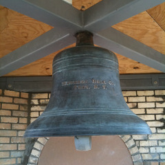 Church bell with internal bell striker, St. Louis MO