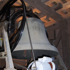 Swinging motor for a church bell, Phoenix AZ
