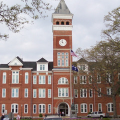 Tillman Hall, Clemson University Clock Tower repair, Clemson SC