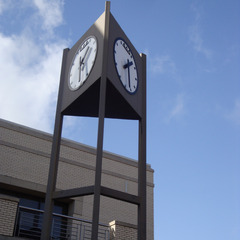 University tower clock repair, University of Arkansas Fayettville AR
