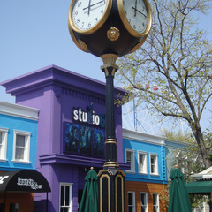 Six Flags St. Louis street clock repair, St. Louis MO