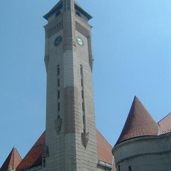 St. Louis Union Station tower clock repair