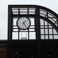 St. Paul train station clock, St. Paul MN