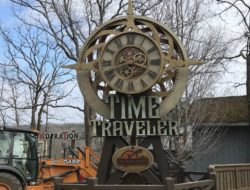 Completion of installation at Silver Dollar City Branson