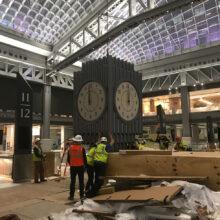 Penn Station NY Clock